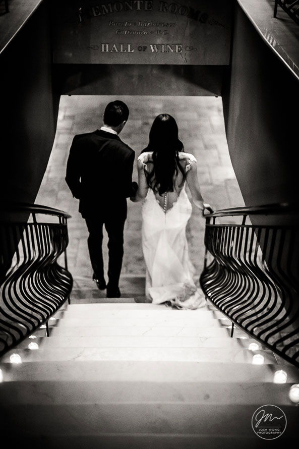 Del Posto's NYC Wedding - Pictures by Top New York Wedding Photographer Josh Wong Photography