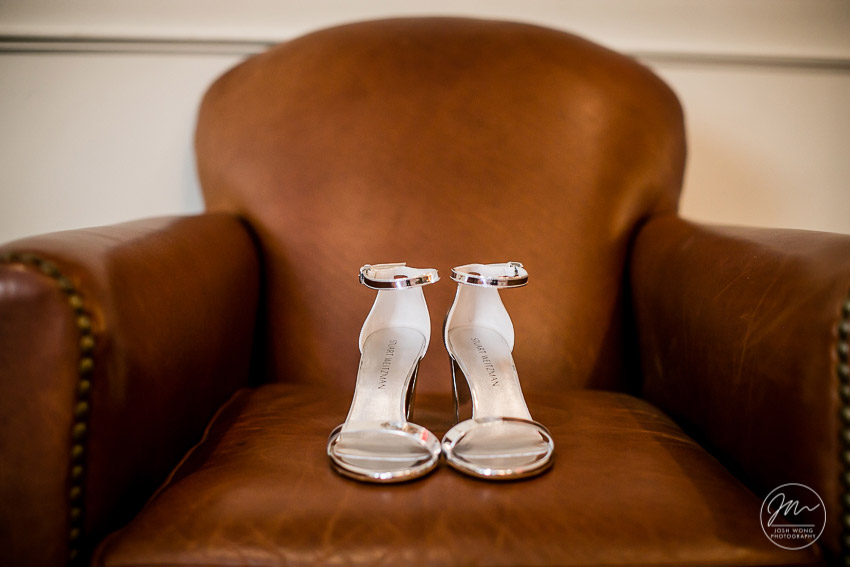 Stuart Weitzman. The NoMad Hotel New York wedding pictures by Josh Wong Photography