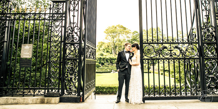 The Nomad Hotel New York City, The Jane Hotel, and a Conservatory Garden Central Park Wedding. Wedding pictures by Josh Wong Photography