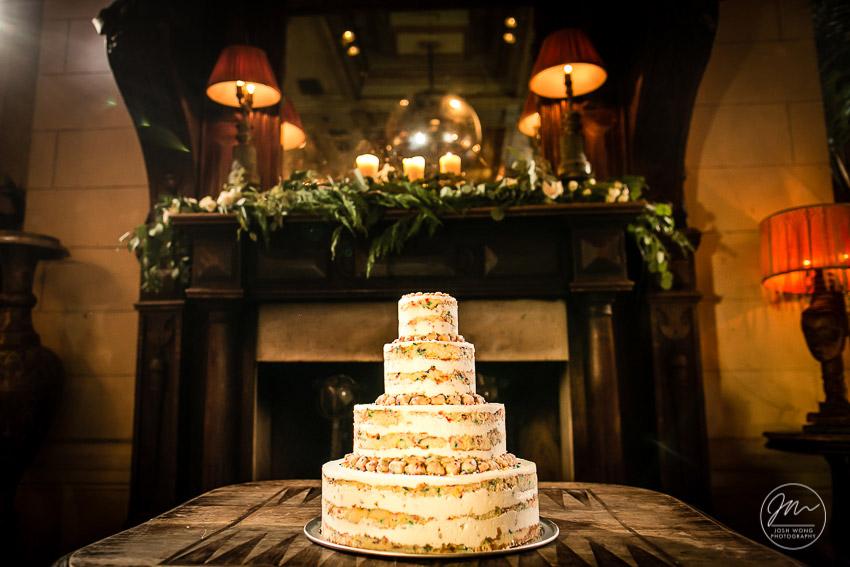 Milk Bar Momofuku Wedding Cake. Wedding pictures by Josh Wong Photography.