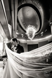A Mandarin Oriental Hotel Wedding - New York City. Wedding Pictures by NYC Wedding photographer Josh Wong Photography