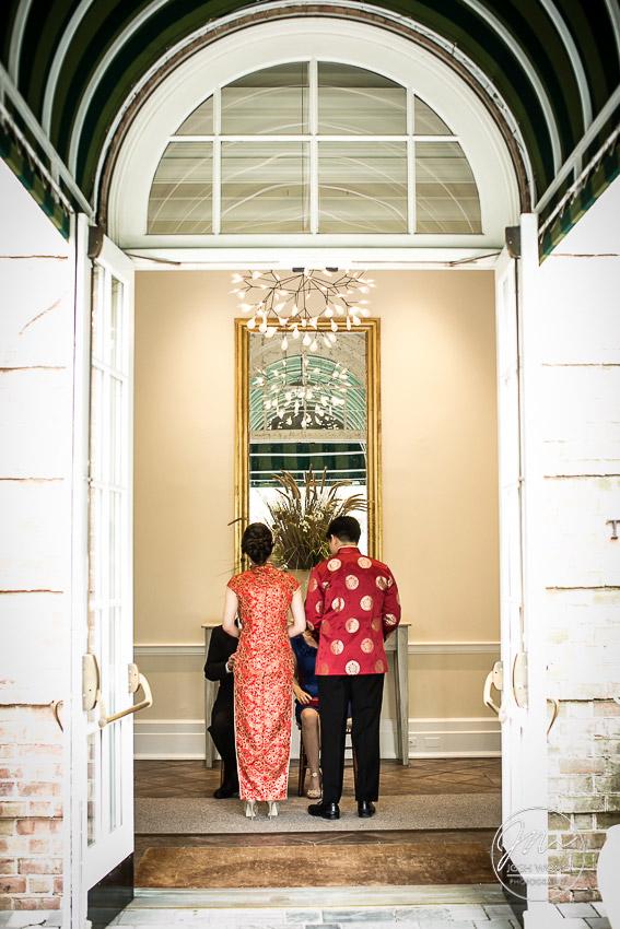 Chinese Wedding Tea Ceremony at New York Botanical Garden Wedding Pictures by NYC Wedding Photographer Josh Wong Photography