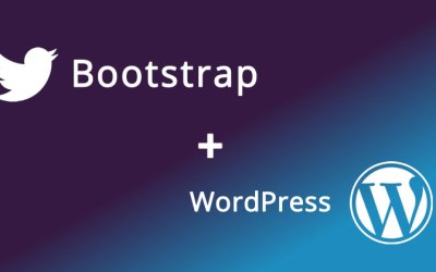 New Simple Bootstrap WordPress Theme