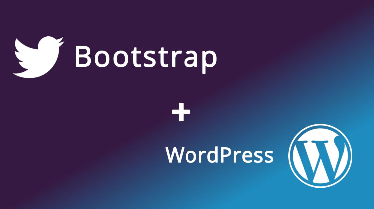 New Simple Bootstrap WordPress Theme