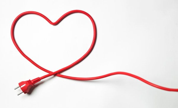 Heart-shaped cord