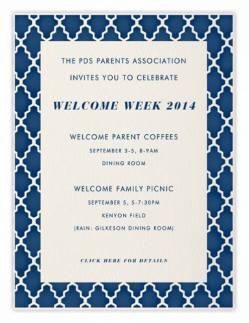 Welcome Week 2014