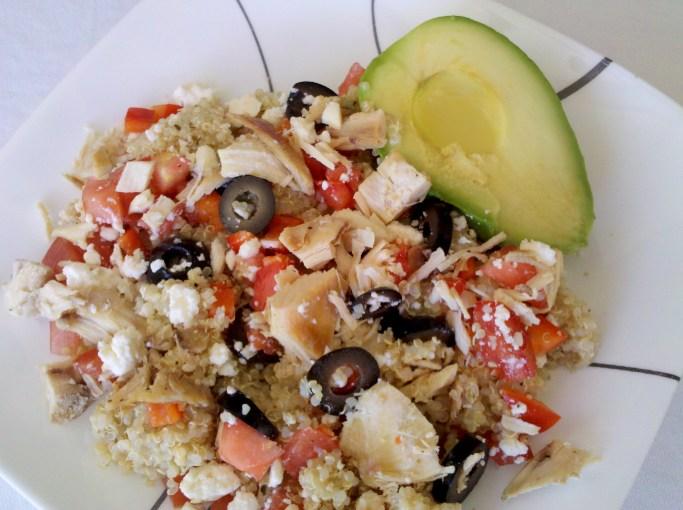 Delicious Quinoa Salad Simply Made