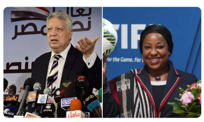 OUVERTURE D'UNE ENQUETE PAR LA CAF : L'insolent président du Zamalek menace Fatma Samoura et la Fédération sénégalaise de football