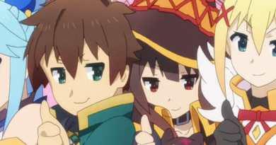 New Kono Subarashii Sekai ni Shukufuku wo! (KonoSuba) Anime Project Announced