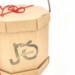 Caja para ramos de flores y plantas naturales envío a domicilio