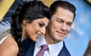 John Cena get married to his Iranian born Girlfriend Shay Shariatzadeh in a private ceremony.