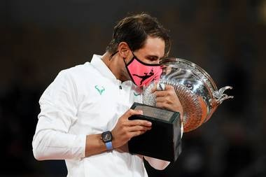 Rafael Nadal officially king of Clay, defeats Novak Djokovic to clinch his 20th Grand slam title at Roland Garros.