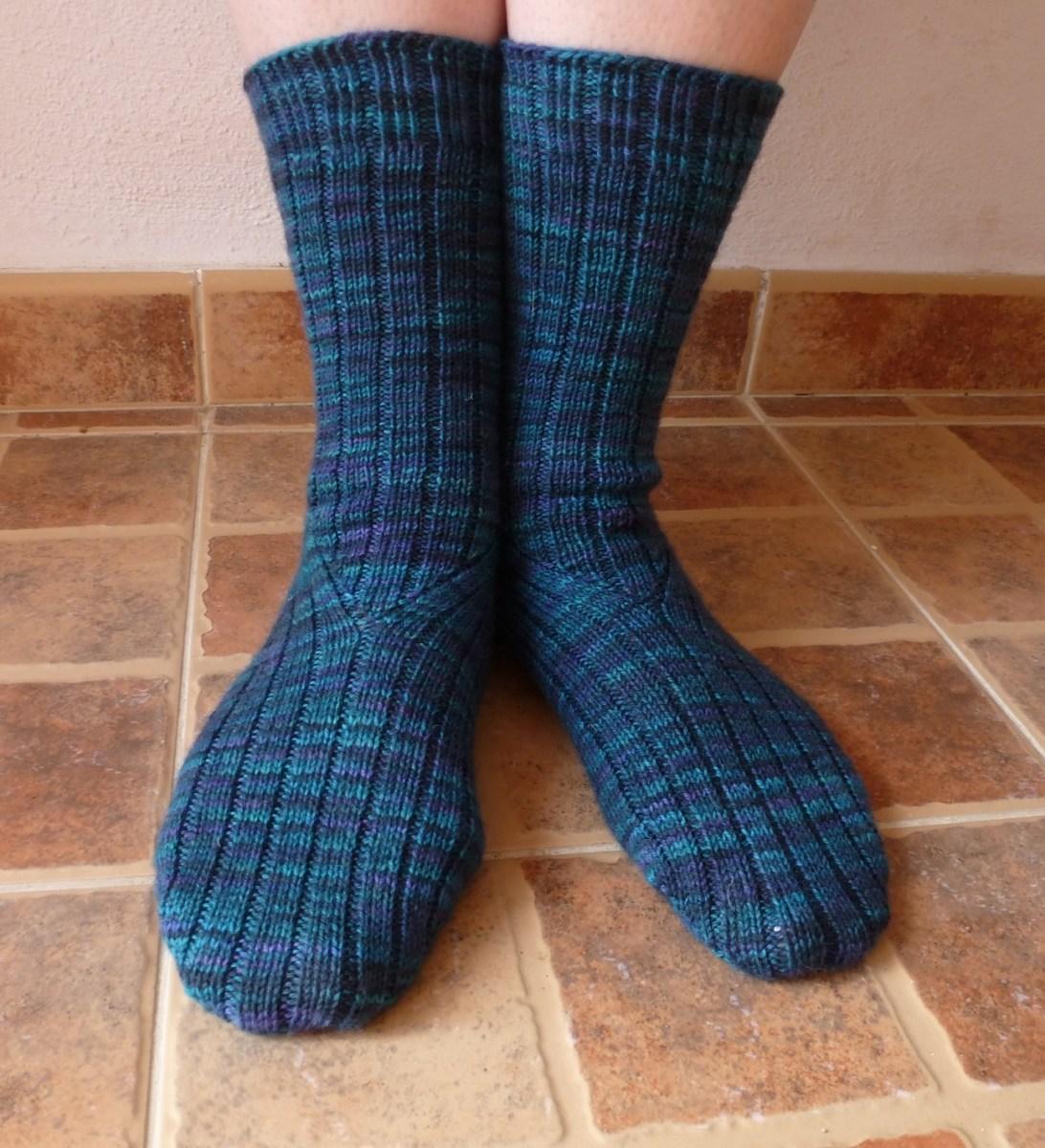 Jo Torr Colindale ribbed socks