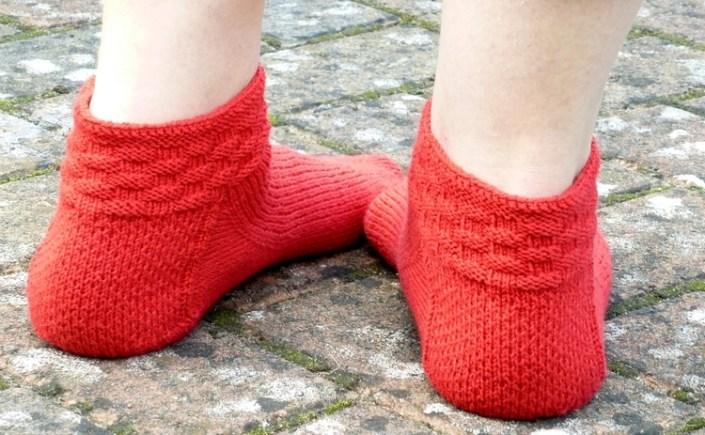 Jo Torr Fairlop short toe-up socks