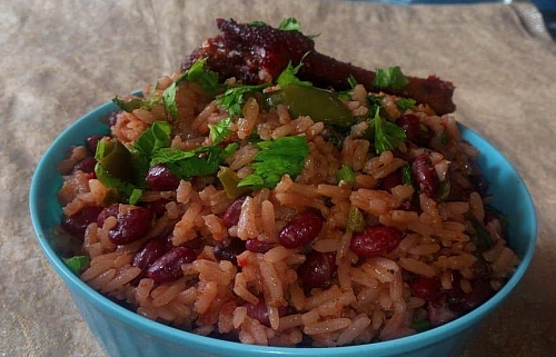 How to Prepare a Quick and Easy Red  Kidney Beans and Rice Recipe