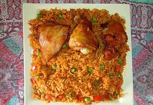 Serve your Jollof rice exactly the way you love it.