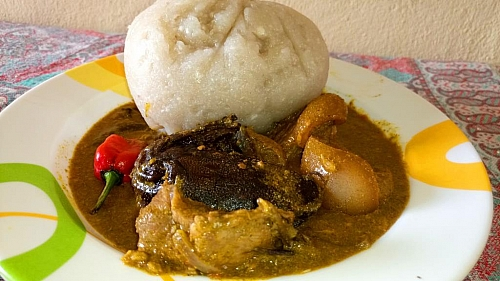 Miyan Kuka is best served with tuwo