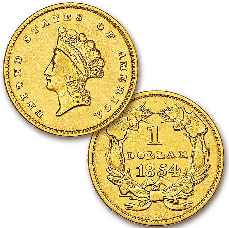 A Standard gold coin. This type of money has its face value printed on it. The number printed on it is equivalent to the amount of gold used in making it. Most coins that are used today are token coins and no more standard coins.