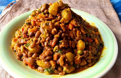 Photo of How to Cook Easy healthy Sweet Potato and White Kidney Beans Porridge (Cannellini Beans) Recipe