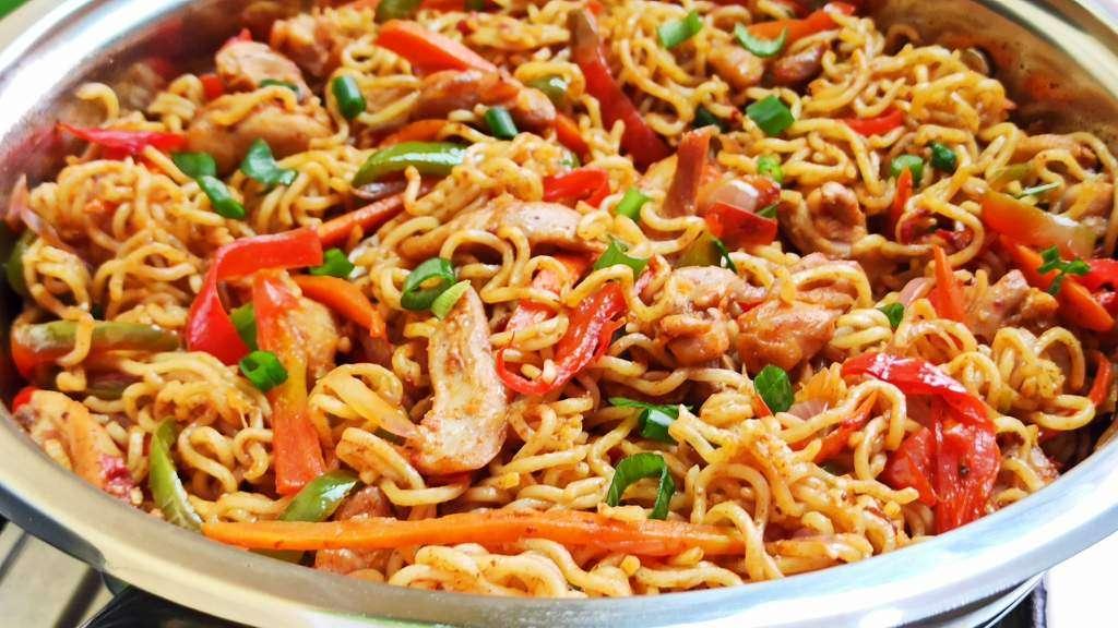 Fried Indomie Noodles