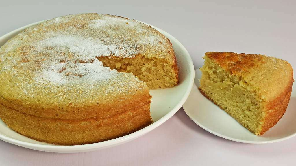 Easy Yogurt Cake Recipe with Lemon