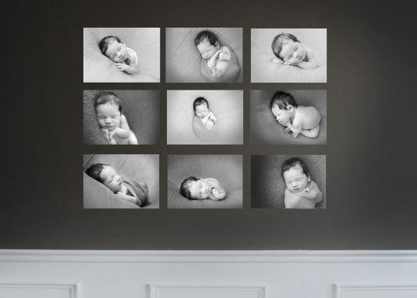 Black and White Photography – Newborn & Baby