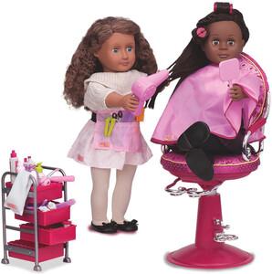 poupees our generation accessoires salon de coiffeuse pour poupee our generation sans poupee chaise