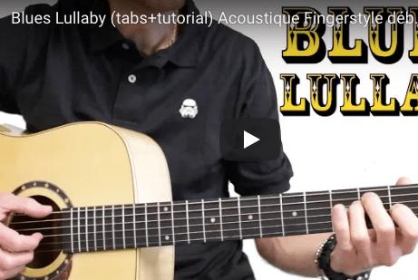 tuto guitare débutant blues fingerstyle