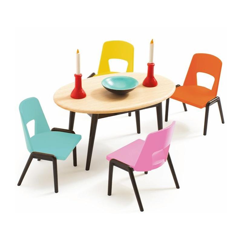 meubles pour maison de poupees