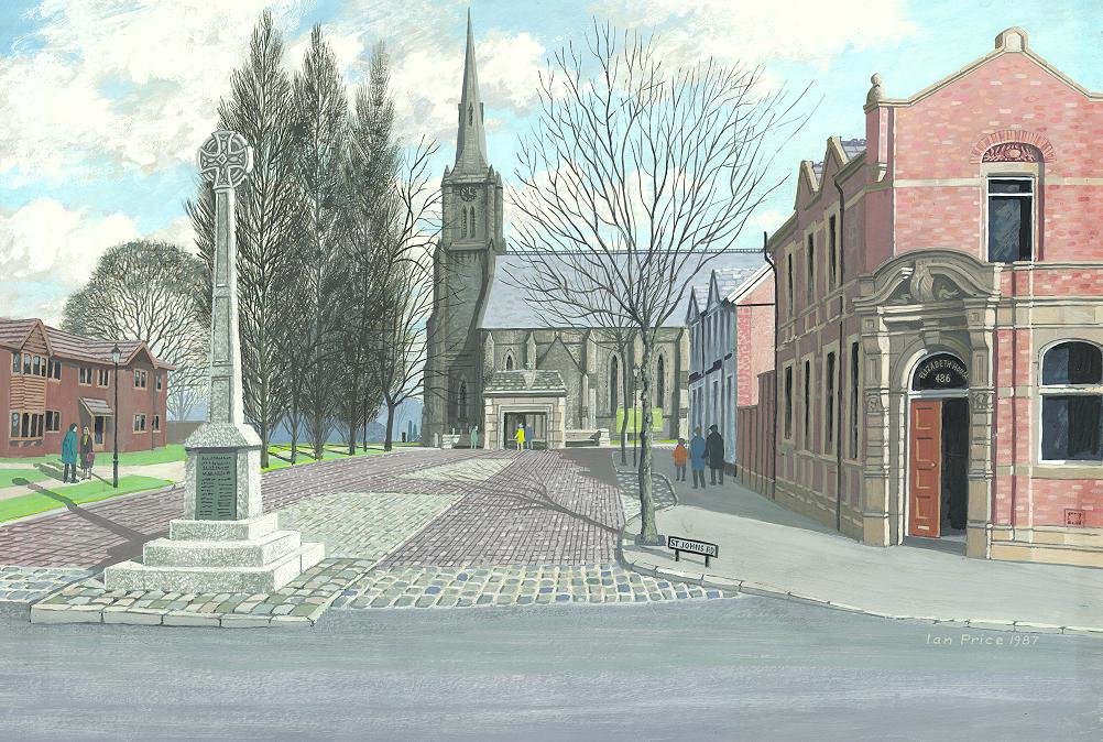 St Johns Church, Heaton Mersey
