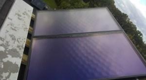 Chantier chaudière gaz avec panneaux solaires - Jourdan Crespin