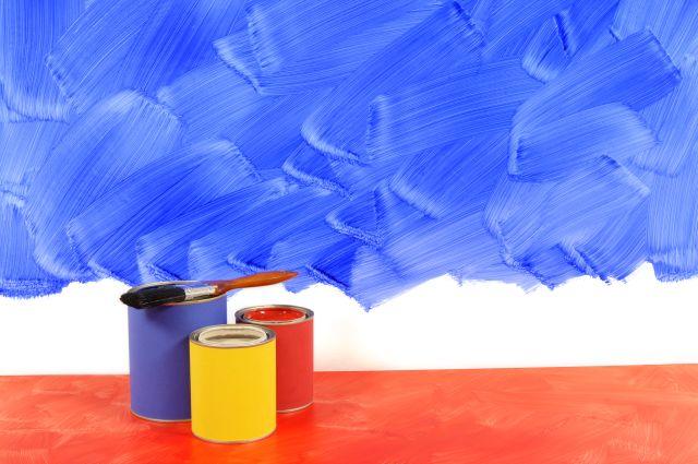 ravalement et peinture murs intérieurs