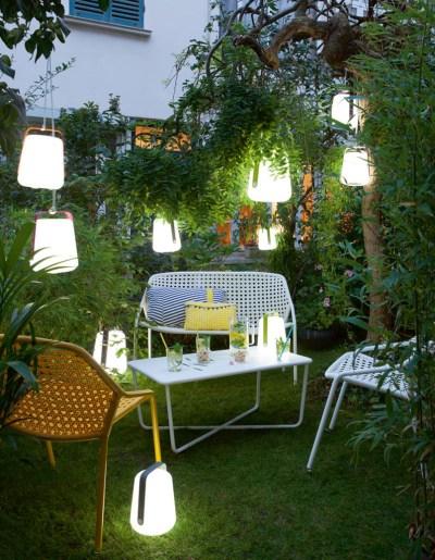 jardin aménagé décoré