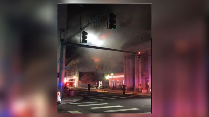 Fire in 150-year-old downtown Middletown building under investigation (image)