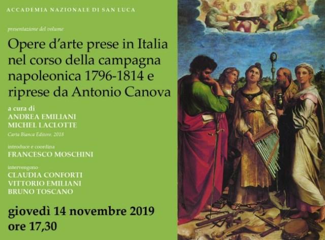 Presentazione libro Accademia San Luca