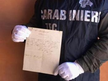 Lettera Garibaldi TPC Roma