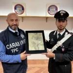 I Carabinieri per la Tutela del Patrimonio Culturale restituiscono opera d'arte razziata dalla GESTAPO