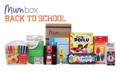 mum box back to school