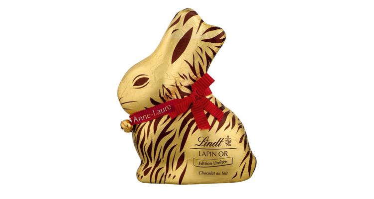 chocolats de paques lindt