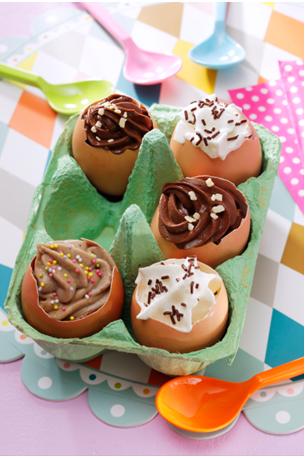 recette de paques mousse au chocolat coquille d œufs