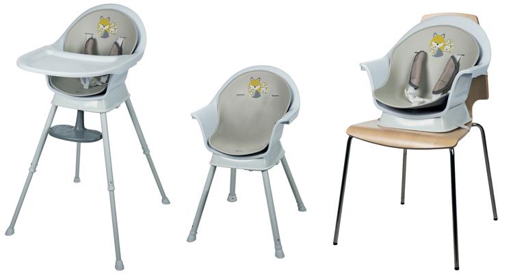 chaise 3 en 1 tigex