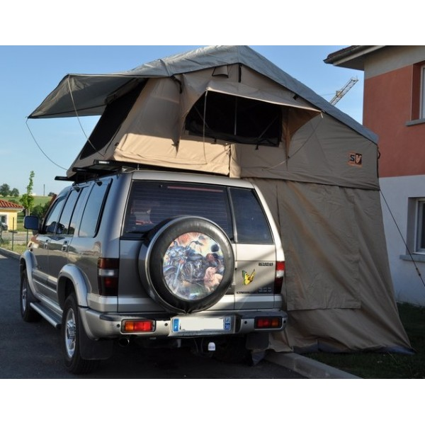 tentes de toit pour le raid 4x4 et l