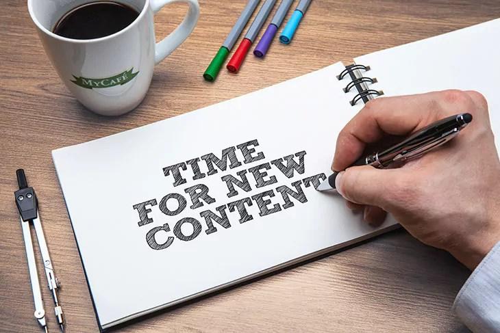 Le contenu pour votre stratégie digitale