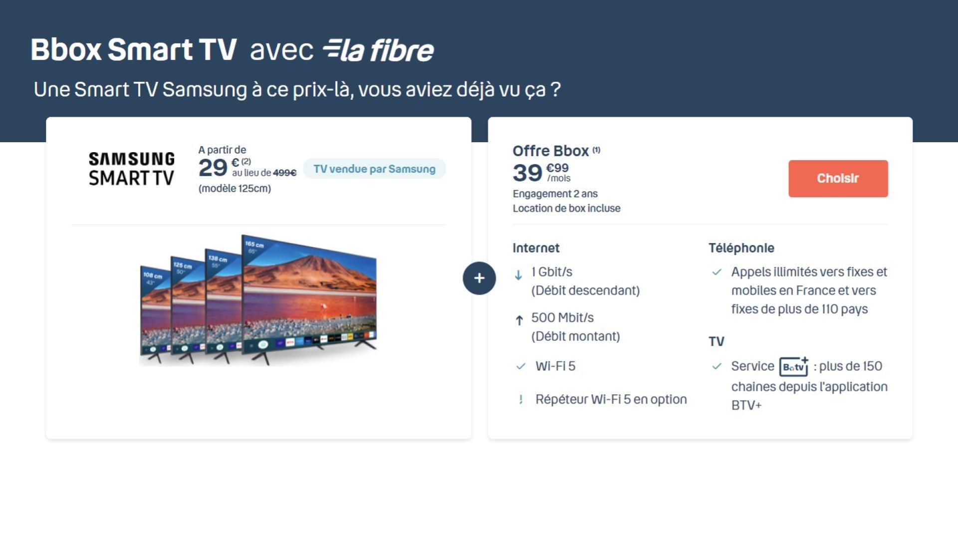 cette smart tv samsung 50 pouces 4k n