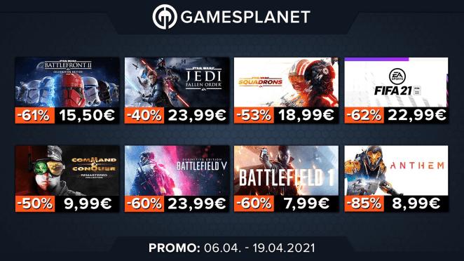 Gamesplanet : jusqu'à 85% de réduction sur les jeux PC de Bethesda et Electronic Arts