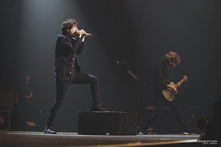 One Ok Rock au Zénith, 22 décembre 2017