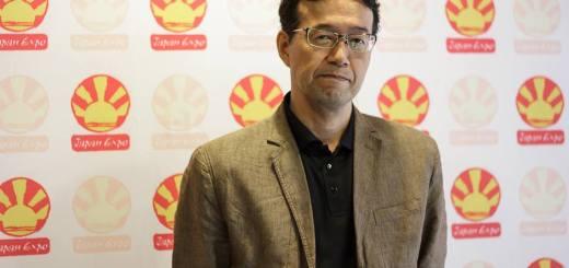 Shinji Aramaki Japan Expo 2014