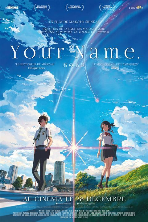 Your Name Affiche