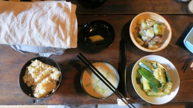 Le petit déjeuner au temple Antaiji, aspire à devenir zen. Crédits: Antaiji