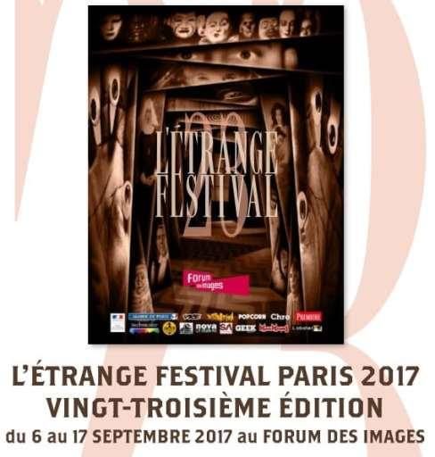 L'Etrange Festival PARIS 2017